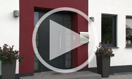 Aluminium and steel entrance doors